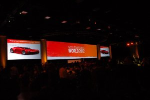 SolidWorks World 2012 - Monday General Session (According to Twitter) - part 1