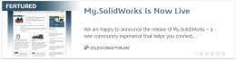 My.SolidWorks is Now Live!